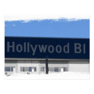 Hollywood Blvd Vykort