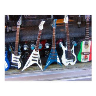 Hollywood gitarrer vykort
