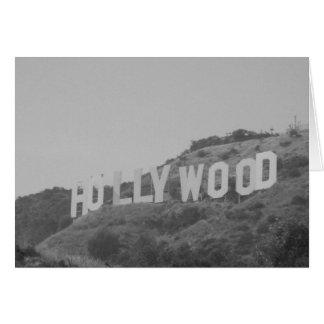 Hollywood hälsningkort hälsningskort