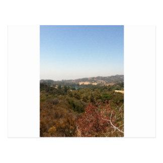 hollywood landskap vykort