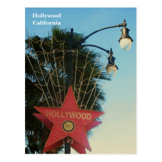 Hollywood vykort! vykort