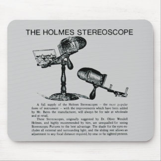 Holmes Stereoscopeannonsering - vintage Musmatta