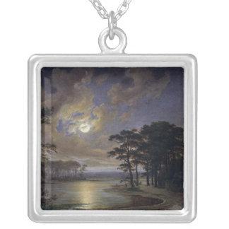 Holstein hav - månsken, 1847 silverpläterat halsband
