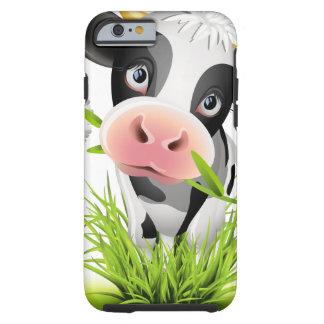 Holstein ko i gräs tough iPhone 6 case