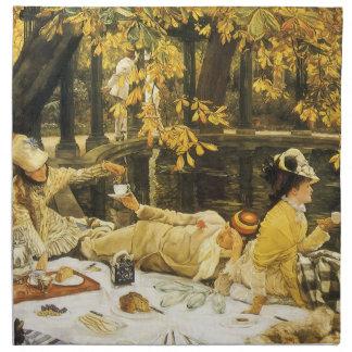 Holyday (picknicken) vid James Tissot Tygservett