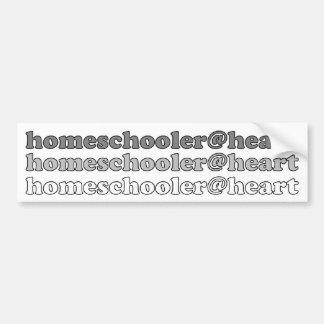 homeschooler@heart bildekal