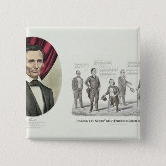 Hon. Abraham Lincoln Standard Kanpp Fyrkantig 5.1 Cm