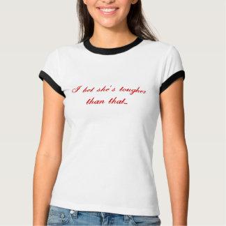 hon är med vampyrerna… tee shirt