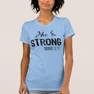 Hon är starka kristna kvinnor fungerar ut tanktop