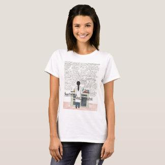 Hon framhärdade (STEMEN) Tee Shirts