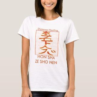 HON SHA ZE SHO NEN - läka för Reiki avstånd Tee Shirt