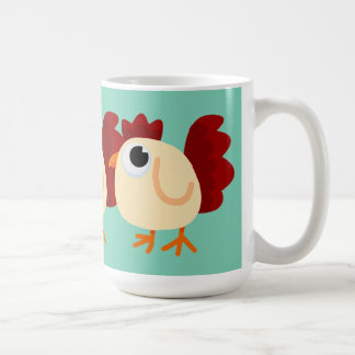 Höna lite kaffemugg