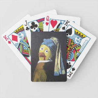 höna med pärlan gå i ax ringen spelkort