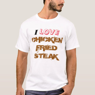 Höna stekt Steak Tee