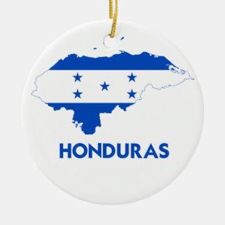 HONDURAS KARTA RUND JULGRANSPRYDNAD I KERAMIK