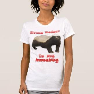 Honey badgerdamtanktop t-shirt