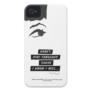 Honey, stay fabulous, 'cause I know I will... case iPhone 4 Skal