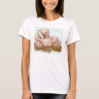Honeybear gullig nalleTshirt Tee Shirt