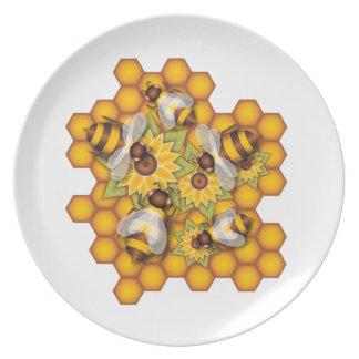 Honeybees Tallrik