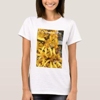 Honeybeesmateria! Honeybee på gul blomma Tröjor