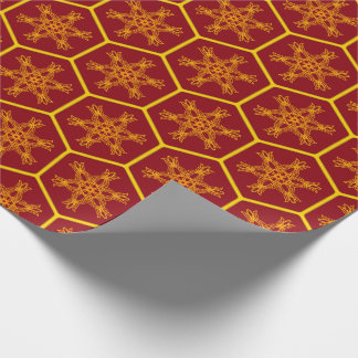 Honeycomb drawing pattern presentpapper