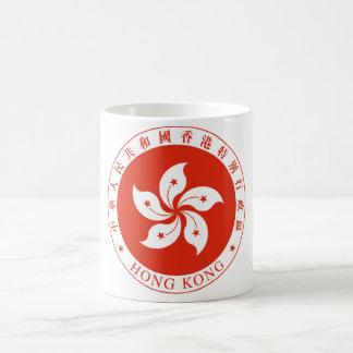 Hong Kong emblem Kaffemugg