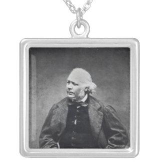 Honore Daumier c.1864 Silverpläterat Halsband
