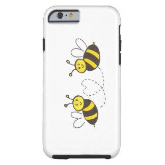 Honungbin med hjärta tough iPhone 6 case