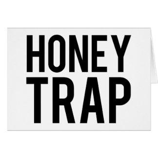 Honungfälla Hälsningskort