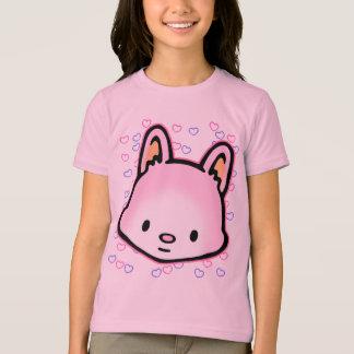 Honunghjärta vänliga T-tröja T-shirts