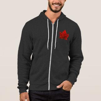 Hooded jacka för Kanada HoodieKanada flagga