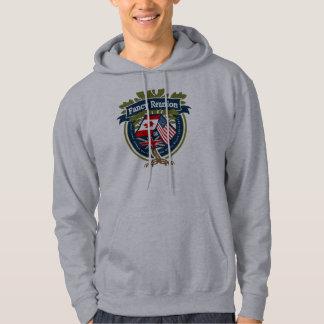 Hooded svettskjorta tröja med luva