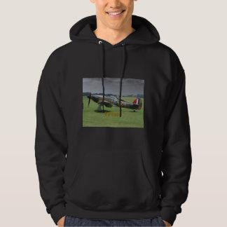 Hooded t-skjorta för Hawkerorkan Sweatshirt Med Luva