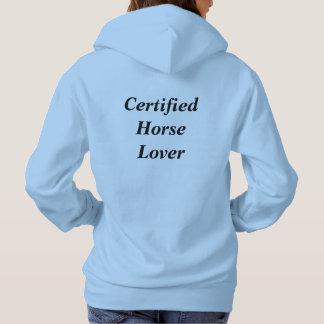 Hooded tröja för hästälskare