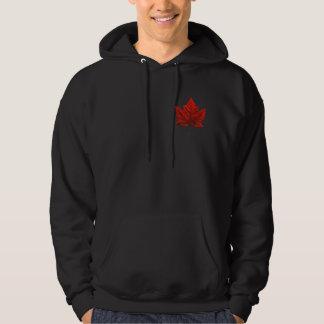 Hooded tröja för Kanada HoodieKanada flagga