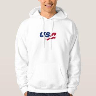 Hooded tröja för USA Racquetball