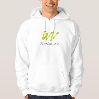 Hooded tröja för West Virginia fotboll