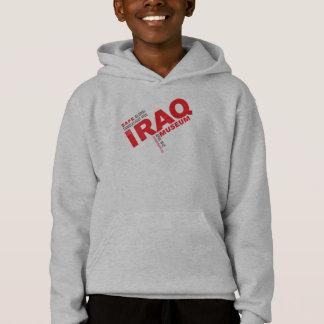 Hooded ulljacka för SÄKER VAKA T-shirt