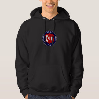 Hoodie för 911 Dispatcher