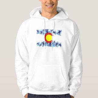Hoodie för grabbar för Colorado stolt