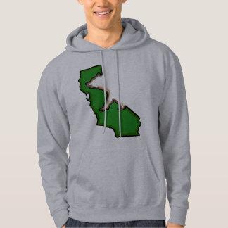 Hoodie för grabbar för grönt för symbol för