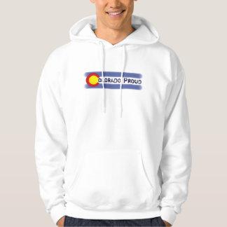 Hoodie för grabbar för symbol Colorado för stolt
