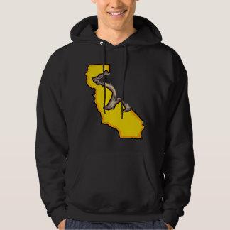 Hoodie för grabbar för symbol för Kalifornien