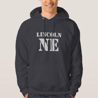 Hoodie för Lincoln Nebraska svettskjorta