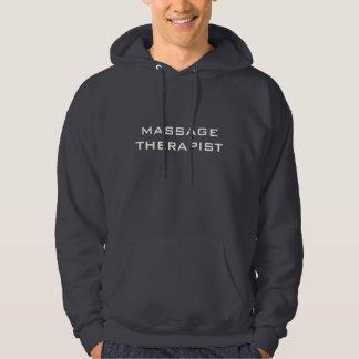 Hoodie för MASSAGETERAPEUTgrått