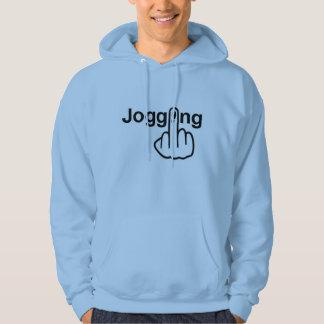 Hoodie som joggar Flip