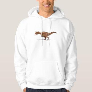 HoodieCarnotraurus Dinosaur Sweatshirt Med Luva
