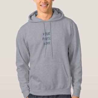 Hoodien tillfogar ditt egna foto tröja med luva