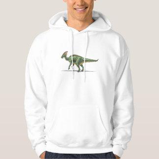 HoodieParasaurolophus Dinosaur Sweatshirt Med Luva