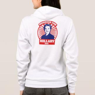 Hoosier för Hillary Clinton 2016 T-shirts